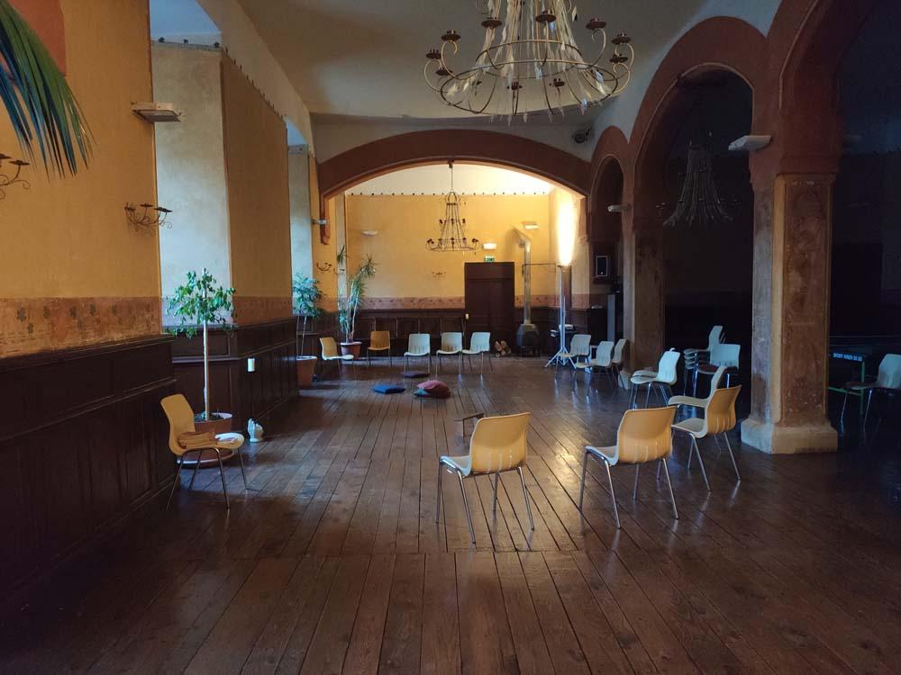 Salle jardin Arche Saint-Antoine