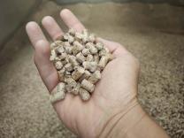 Wood pellets Hjortshoj