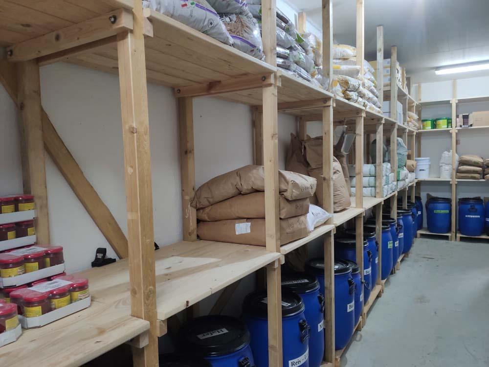 Storeroom Sieben Linden