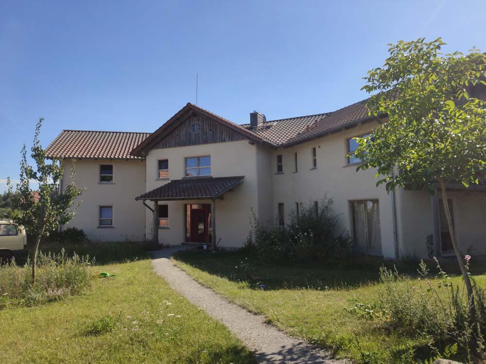 Pre-fab strawbale house Sieben Linden