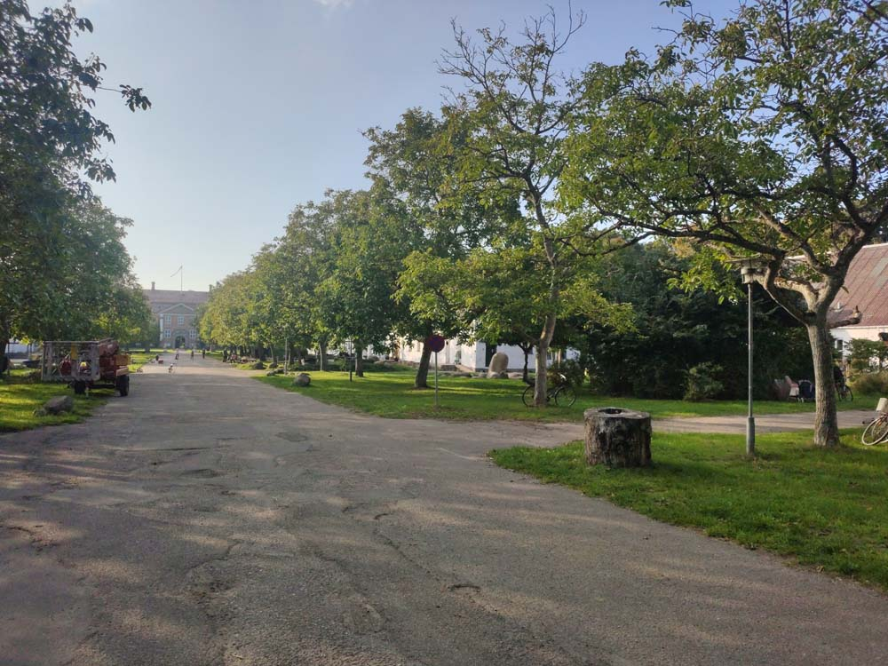 Allée principale Svanholm