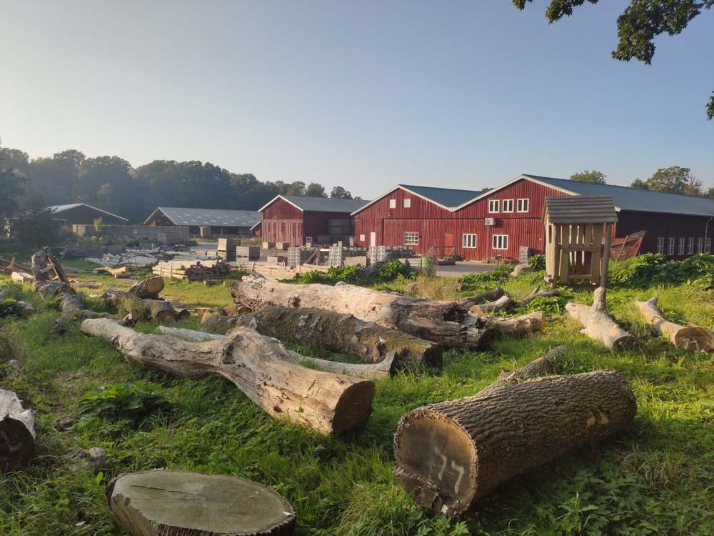 Atelier fabrication bois Svanholm