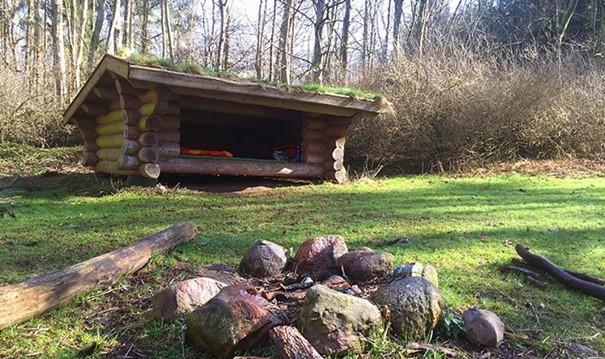 Abris forêt Svanholm